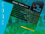 EDGE TOUR 2011 - edgebikes.no