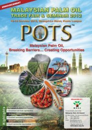 Malaysian Palm Oil, Breaking Barriers... Creating ... - MPOC