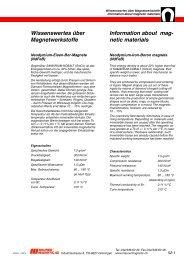 D - Maurer Magnetic AG