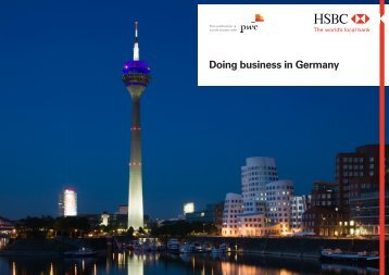HSBC Doing business in Germany