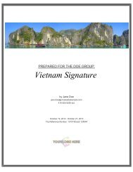 Travel Pack: Doe - Vietnam Signature - Kensington Tours