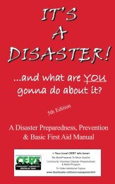 IT'S A DISASTER! ...and what are YOU gonna do about it? 5th ...