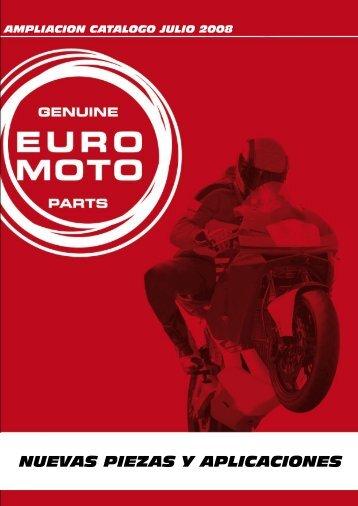 nuevas aplicaciones - Euromoto 85