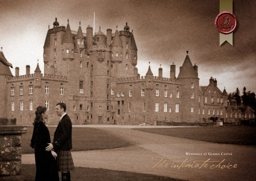 glamis castle website wedding choices wedding packages & fees ...