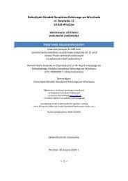 Pobierz SIWZ (PDF 360 kB) - Dolnośląski Ośrodek Doradztwa ...