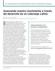 Avanzando nuestro movimiento a través del desarrollo de un ...