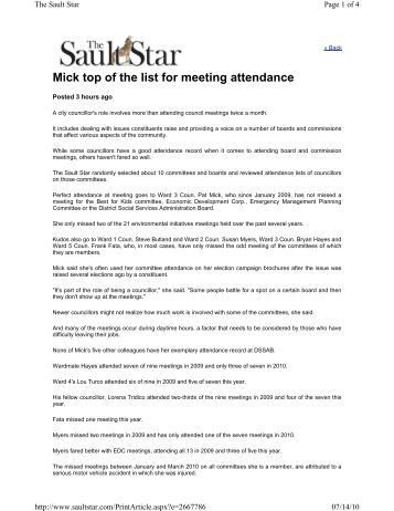 Attendance List - The 16Th International Meeting Of The