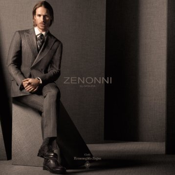 Zenonni Cloth Ermenegildo Zegna S/S '15 Collection