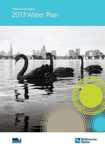 Water Plan 3 - Melbourne Water