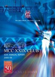2005/06 Annual Report - Melbourne Cricket Club