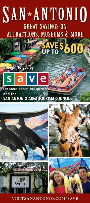 Download SAVE coupons - San Antonio