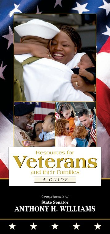 Resource Guide for Veterans and Their Families - Senator Anthony ...