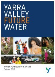 Yarra Valley Water - Essential Services Commission