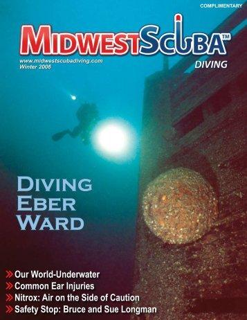 DiviNG EBER WARD - Midwest Scuba Diving Magazine