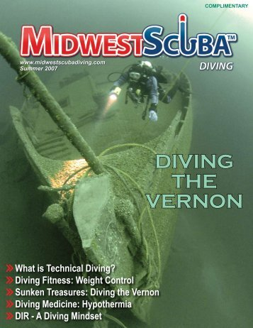 Single Pages Format - Midwest Scuba Diving Magazine