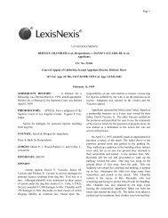 7 of 100 DOCUMENTS BERNICE CHANDLER et al., Respondents ...
