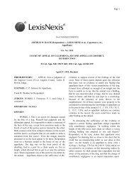 54 of 100 DOCUMENTS ARTHUR W. DAVIS, Respondent, v. LOUIS ...