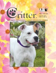 ALL PAGES-August-E - Critter Magazine