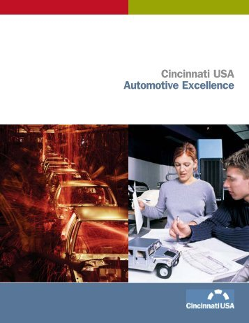 Cincinnati USA Automotive Excellence - SELFCRAFT