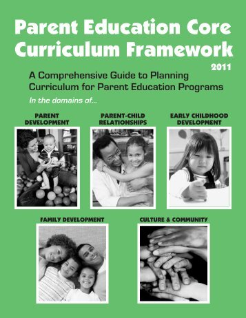 Parent Education Core Curriculum Framework 2011.pdf - mnafee