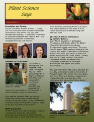 May 2013 - Department of Plant Sciences & Plant Pathology ...