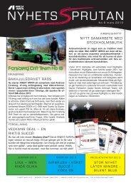 Download Nyhetssprutan 6, svenska, 4 sidor - Anest Iwata