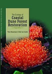 F DUNE FOREST ECOLOGY - CERU - University of Pretoria