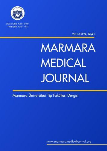marmara medical dergi - Marmara Medical Journal