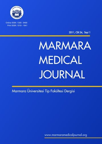 marmara medical dergi - Marmara Medical Journal