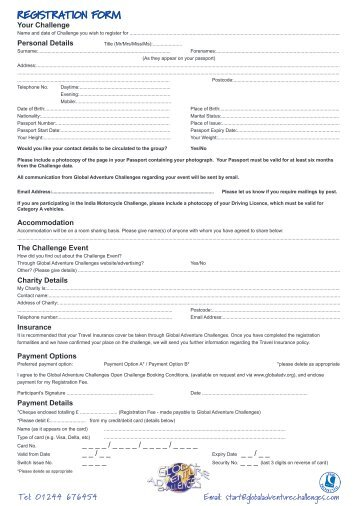 Registration Form - UPDATED - Bath Cats and Dogs Home