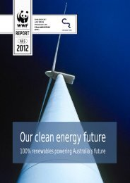 our clean energy future report - Climate Risk