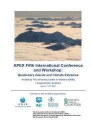 APEX Fifth International Conference and Workshop:
