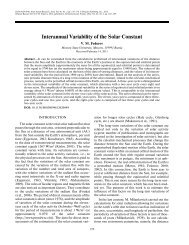 Interannual Variability of the Solar Constant