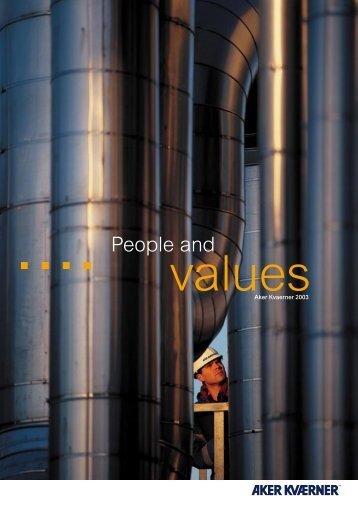 People And Values - Aker Solutions