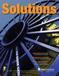 Download Solutions 2008 issue 1 - Aker Solutions