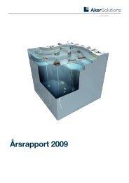 Årsrapport 2009 - Aker Solutions