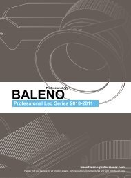 Professional Led Series 2010-2011 - Tuono Lighting International
