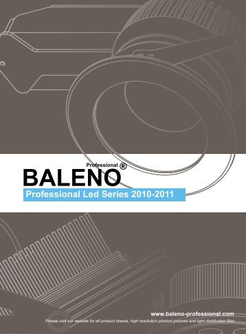 Professional Led Series 2010-2011 - Tuono Lighting International