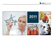 Aker Solutions annual report 2011 Contents - Bolt Communication AS