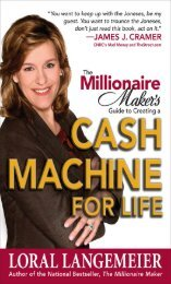 The Millionaire Maker Guide to Creating a Cash Machine for Life ...