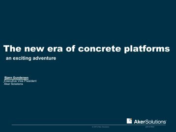 Concrete Structures - Aker Solutions