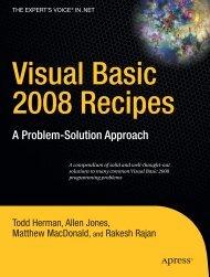 Visual Basic 2008 Recipes - Online Public Access Catalog