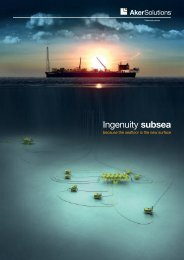 Ingenuity subsea - Aker Solutions