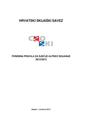 """Bilten br. 14 """"DJEČJI CROSKI KUP"""" sezona 2012/2013"""