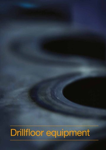 Drillfloor equipment - Aker Solutions