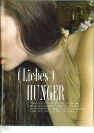 Liebes Hunger