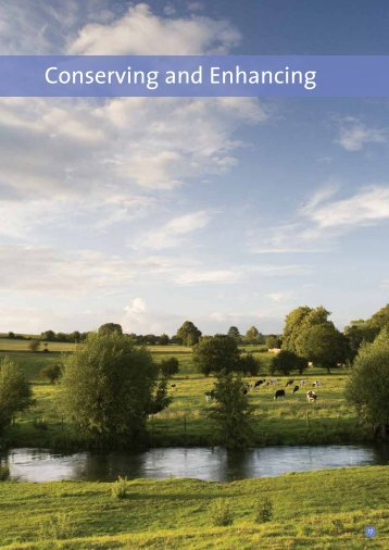 Conserving and Enhancing - Cotswolds Area of Outstanding Natural ...