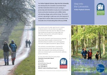 Click here to see a brochure about Step into the Cotswolds