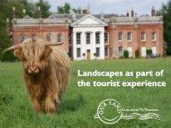 Tourism, landscapes, conservation and local communities