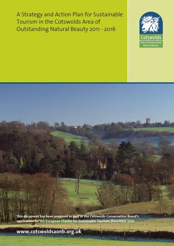 A Strategy and Action Plan for Sustainable Tourism in the Cotswolds ...